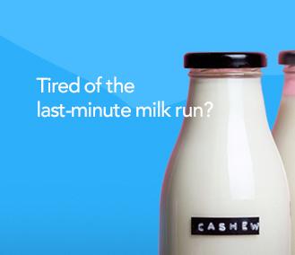 office milk Glasgow